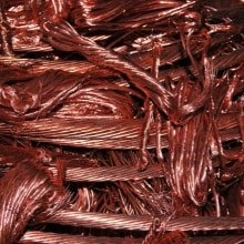 recycled copper wire