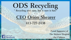 ODS Recycling Business Card