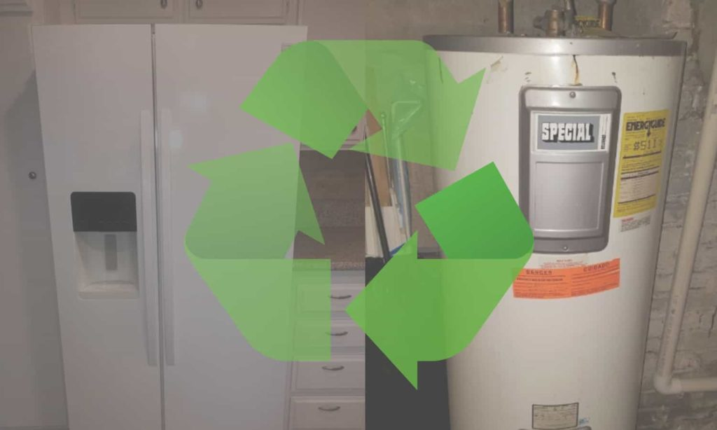 recycle large appliances