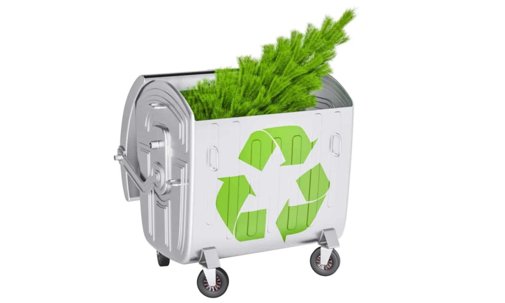 Seasonal recycling items